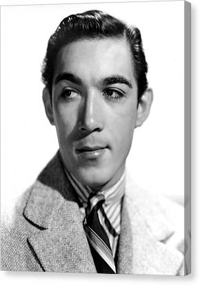 Anthony Quinn, Paramount Pictures, 1938 Canvas Print