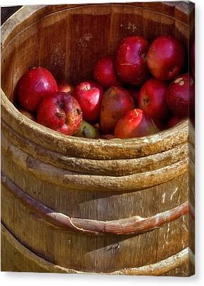 Apple Harvest Canvas Print by Joann Vitali