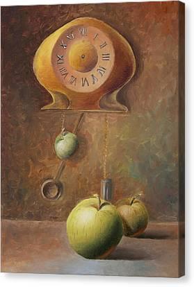 Apple Time Canvas Print by Elena Melnikova