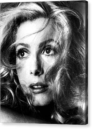 April Fools, Catherine Deneuve, 1969 Canvas Print by Everett