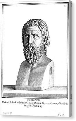 Aristophanes (c450-c388 B.c.) Canvas Print by Granger