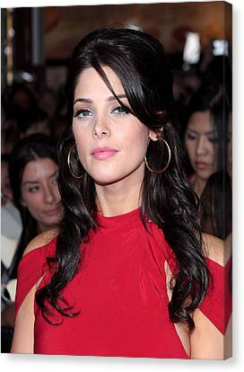 Ashley Greene At Arrivals For The Canvas Print by Everett