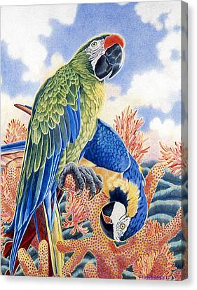 Astarte's Paradise II Canvas Print by Kyra Belan