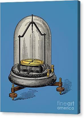 Astatic Galvanometer Canvas Print