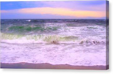 At The Seashore Canvas Print by Marilyn Wilson
