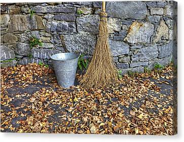 Autumn In The Garden Canvas Print by Joana Kruse