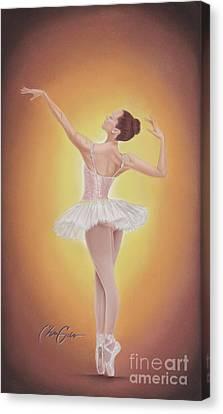 Autumn's Grace Canvas Print by Christian Garcia