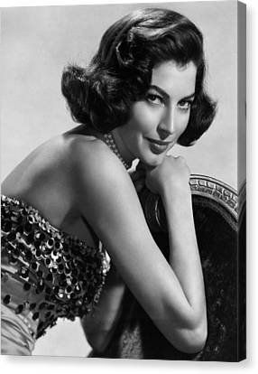 Ava Gardner, 1952 Canvas Print by Everett
