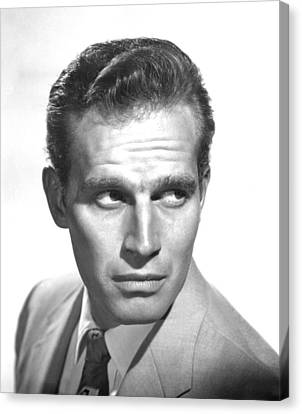 Bad For Each Other, Charlton Heston Canvas Print by Everett