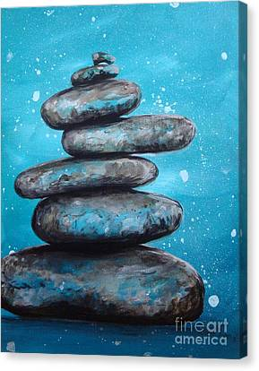 Canvas Print featuring the painting Balance II by Susan Fisher