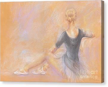 Ballerina Canvas Print by Jovica Kostic
