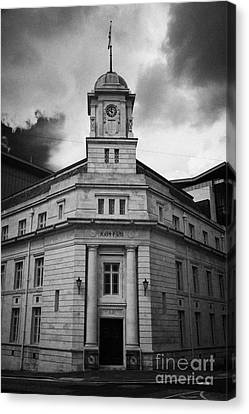 Ballymena Town Hall Now Part Of The Braid Museum And Arts Complex Ballymena  Canvas Print by Joe Fox