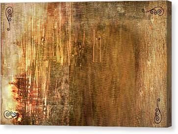 Bamboo Canvas Print by Christopher Gaston