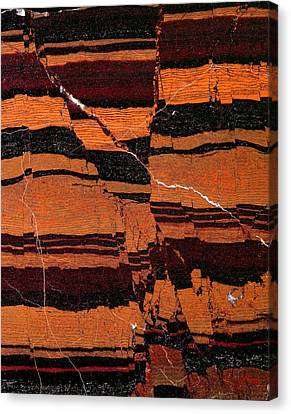 Banded Iron Formation Canvas Print by Dirk Wiersma