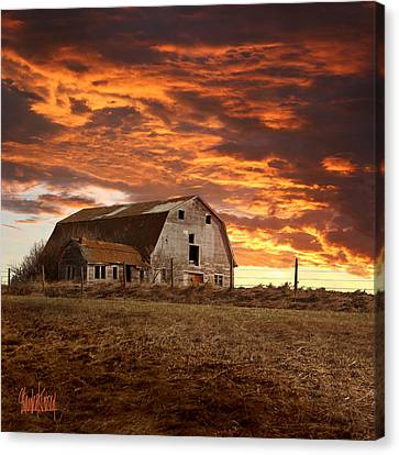 Barn On Highway 21 Canvas Print