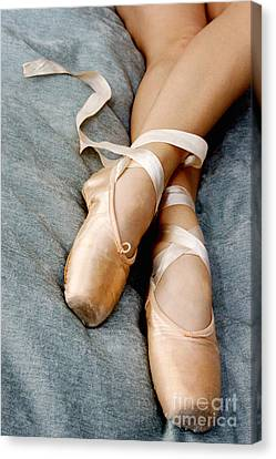 Beauty Is The Pointe Canvas Print by Kim Fearheiley