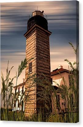 Beavertail Lighthouse Canvas Print