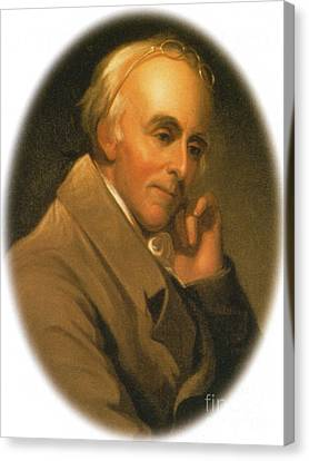 Benjamin Rush Canvas Print by Science Source
