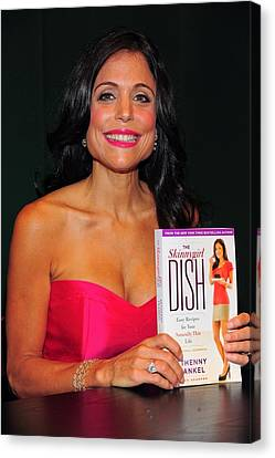 Bethenny Frankel At In-store Appearance Canvas Print by Everett