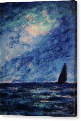 Big Blue Canvas Print by John Scates