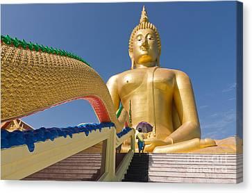 Angthong Canvas Print - Big Buddha by Buchachon Petthanya