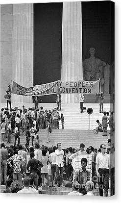 Black Panthers, 1970 Canvas Print by Granger