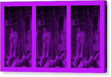 Bob Weir Grateful Dead  Dsm Ia Canvas Print by Tim Donovan