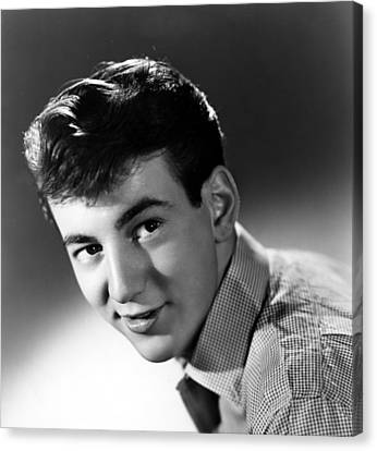 Bobby Darin, Portrait Ca. 1950s Canvas Print by Everett