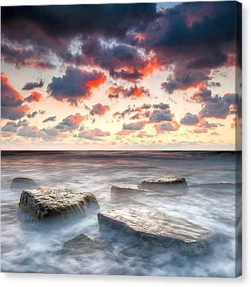Boiling Sea Canvas Print by Evgeni Dinev
