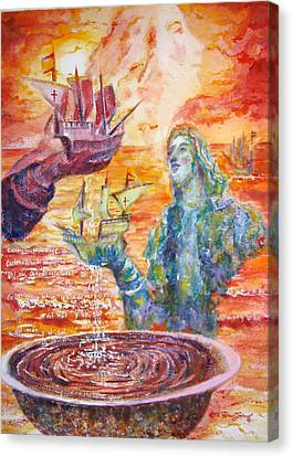 Borinquen Canvas Print by Estela Robles