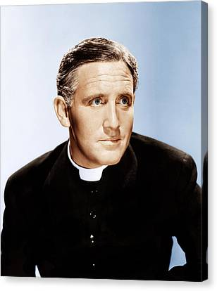 Boys Town, Spencer Tracy, 1938 Canvas Print by Everett