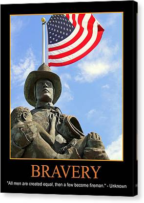 Bravery Canvas Print by PMG Images