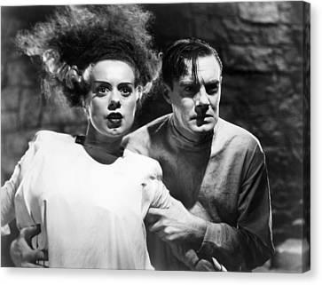Bride Of Frankenstein, 1935 Canvas Print by Granger