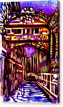Bridge Of Sighs Canvas Print by Giuliano Cavallo