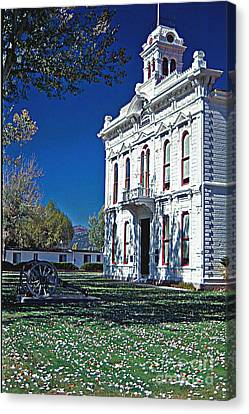 Bridgeport City Hall Canvas Print by Gary Brandes