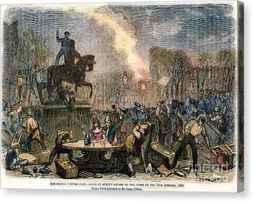 Bristol: Reform Riot, 1831 Canvas Print by Granger