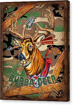 Bubba Deer Canvas Print by JQ Licensing