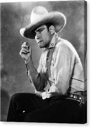 Buck Jones, Ca Early 1930s Canvas Print