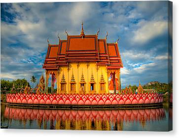 Buddha Temple  Canvas Print by Adrian Evans