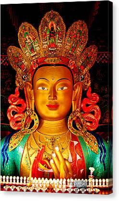 Budha  Canvas Print by Saira Ks