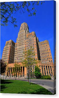Buffalo Ny City Hall Canvas Print