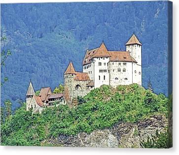 Burg Gutenberg Balzers Litchtenstein Canvas Print by Joseph Hendrix