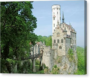 Burg Lichtenstein Canvas Print by Joseph Hendrix