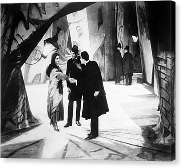 Cabinet Of Dr. Caligari Canvas Print by Granger