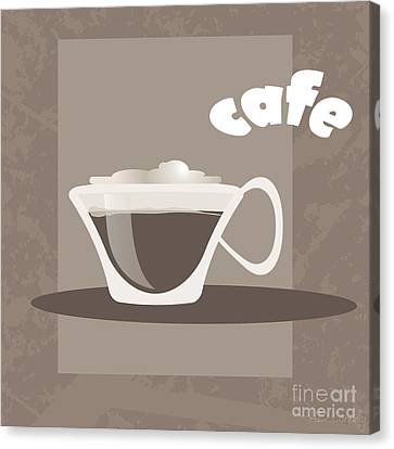 Cafe Canvas Print by HD Connelly