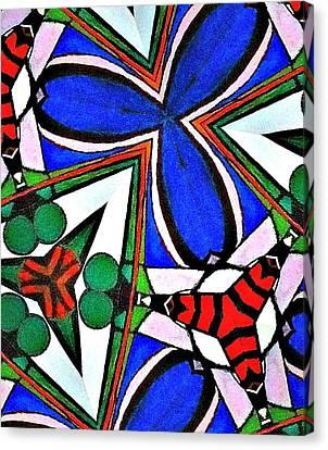 Calendoscopio Canvas Print by Sandra Lira