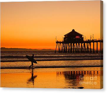Call It A Night Canvas Print by Everette McMahan jr