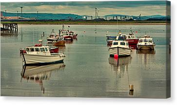 Paddys Hole Canvas Print - Calm Waters by Trevor Kersley
