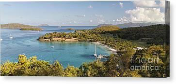 Caneel Bay Panorama Canvas Print