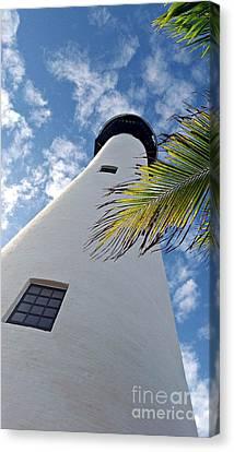 Cape Florida Lighthouse Canvas Print by Tammy Chesney
